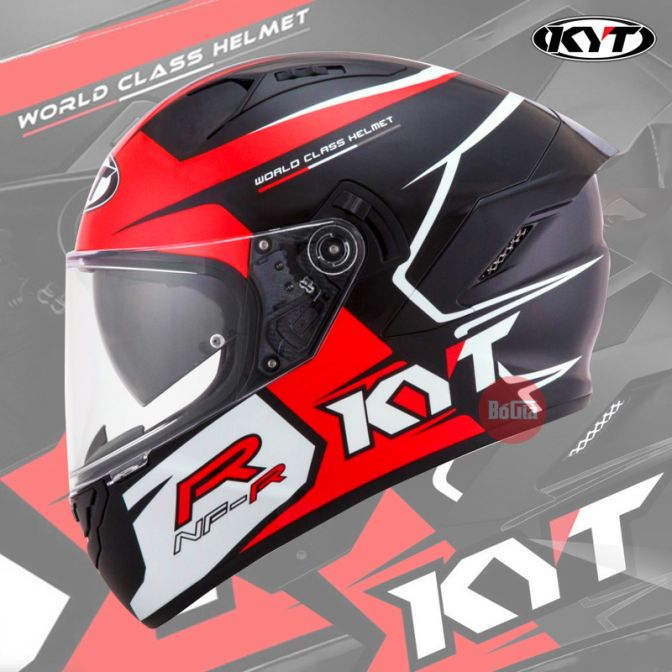 KYT NFR Track Red Gloss