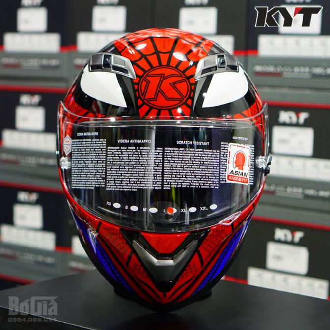 KYT Falcon Spider Man